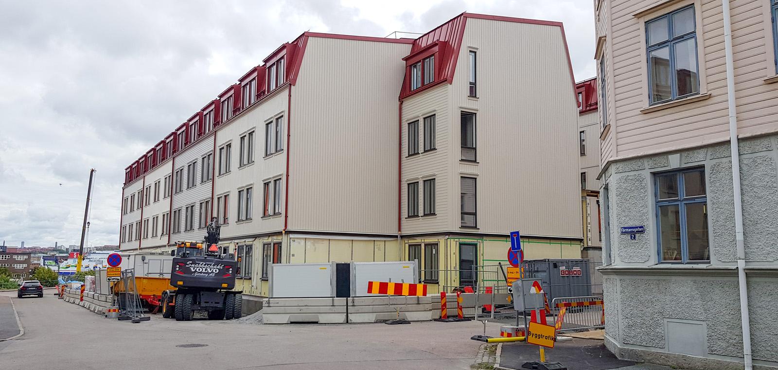Ny brand pa chalmers studenthem i goteborg